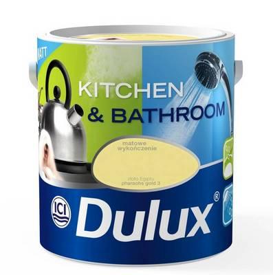 Dulux Kuchnia I łazienka O Matowym Wykończeniu Farby I