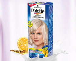 Palette Intensive Color Creme A10 – Rozświetlony popielaty blond