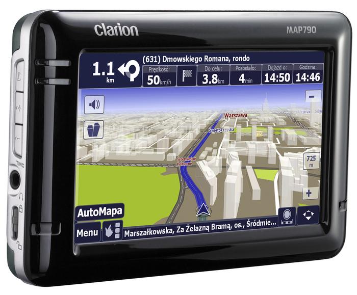 Clarion MAP790 - Nawigacja GPS